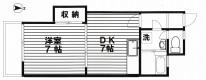 仲介手数料0円、西新宿1DK