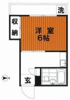 仲介手数料0円、礼0、敷0の上北沢駅45,000円